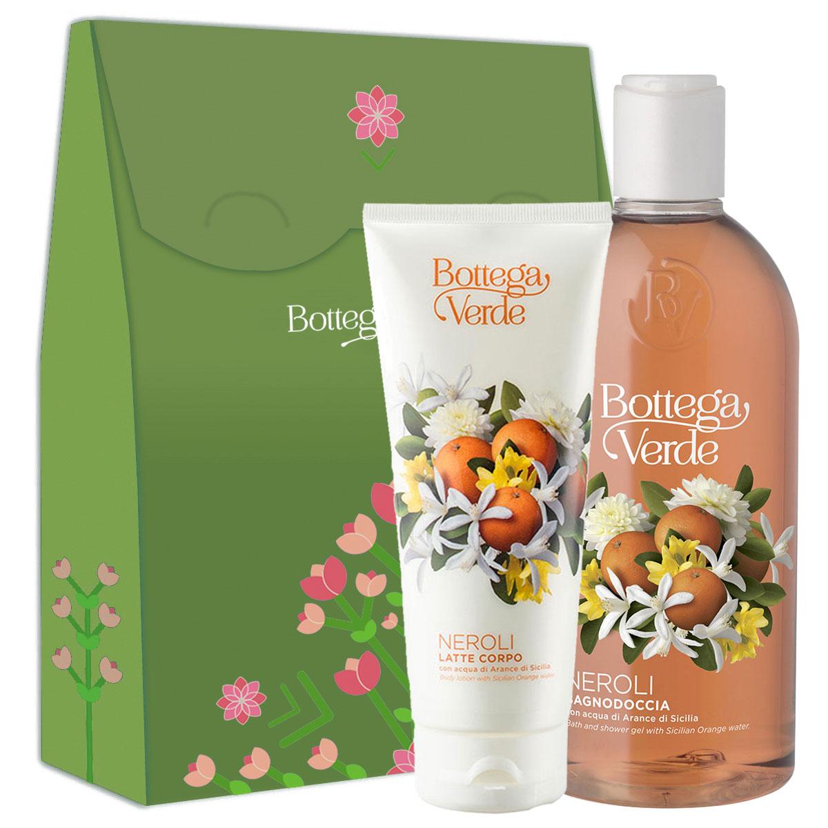 Set cadou femei ingrijire corp cu aroma de flori de portocal imagine