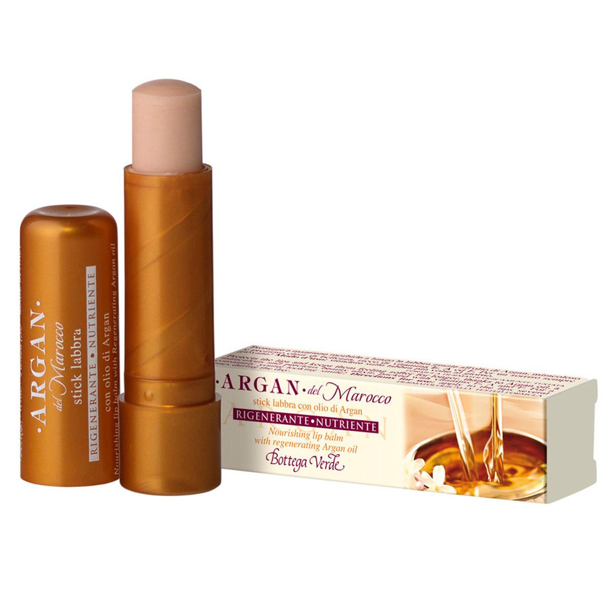 Balsam de buze cu ulei de argan, nude - Argan del Marocco, 5 ML