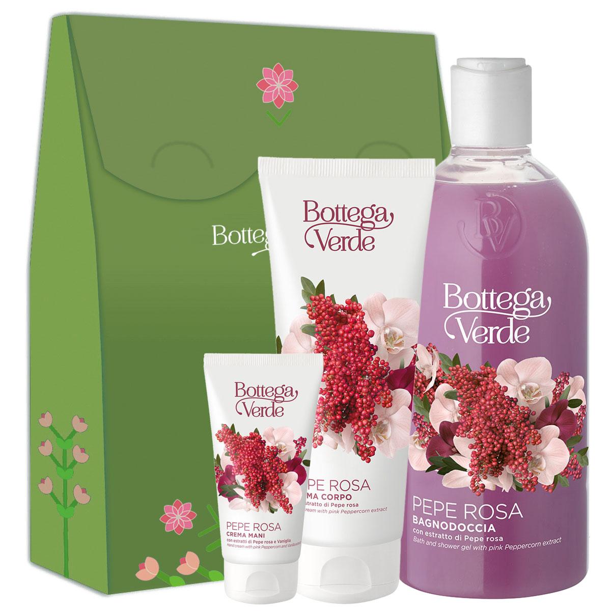 Set cadou femei hidratare corp cu extract de piper roz imagine