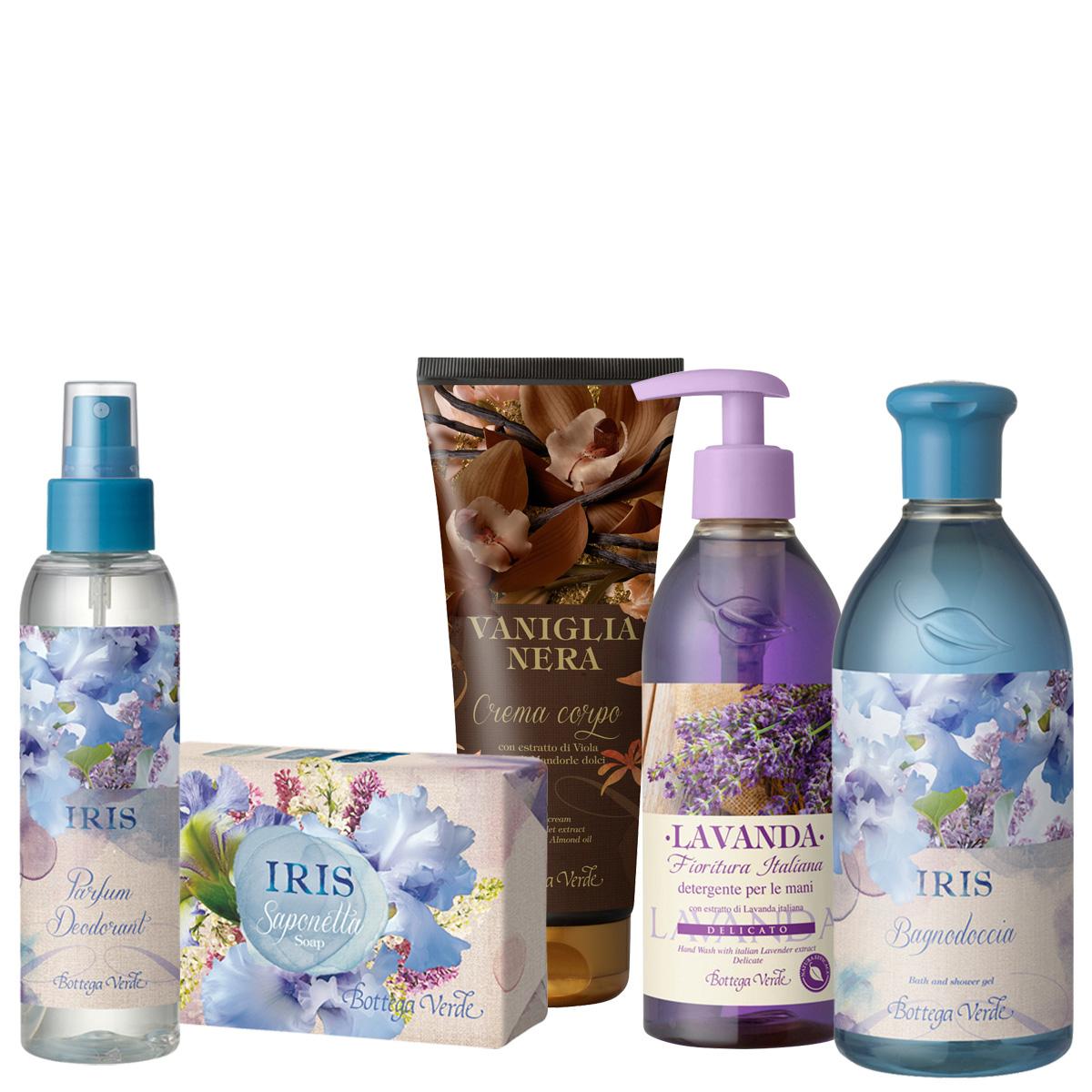 Set cadou - Iris - Special Vara 2016 - iris&lavanda&vanilie neagra