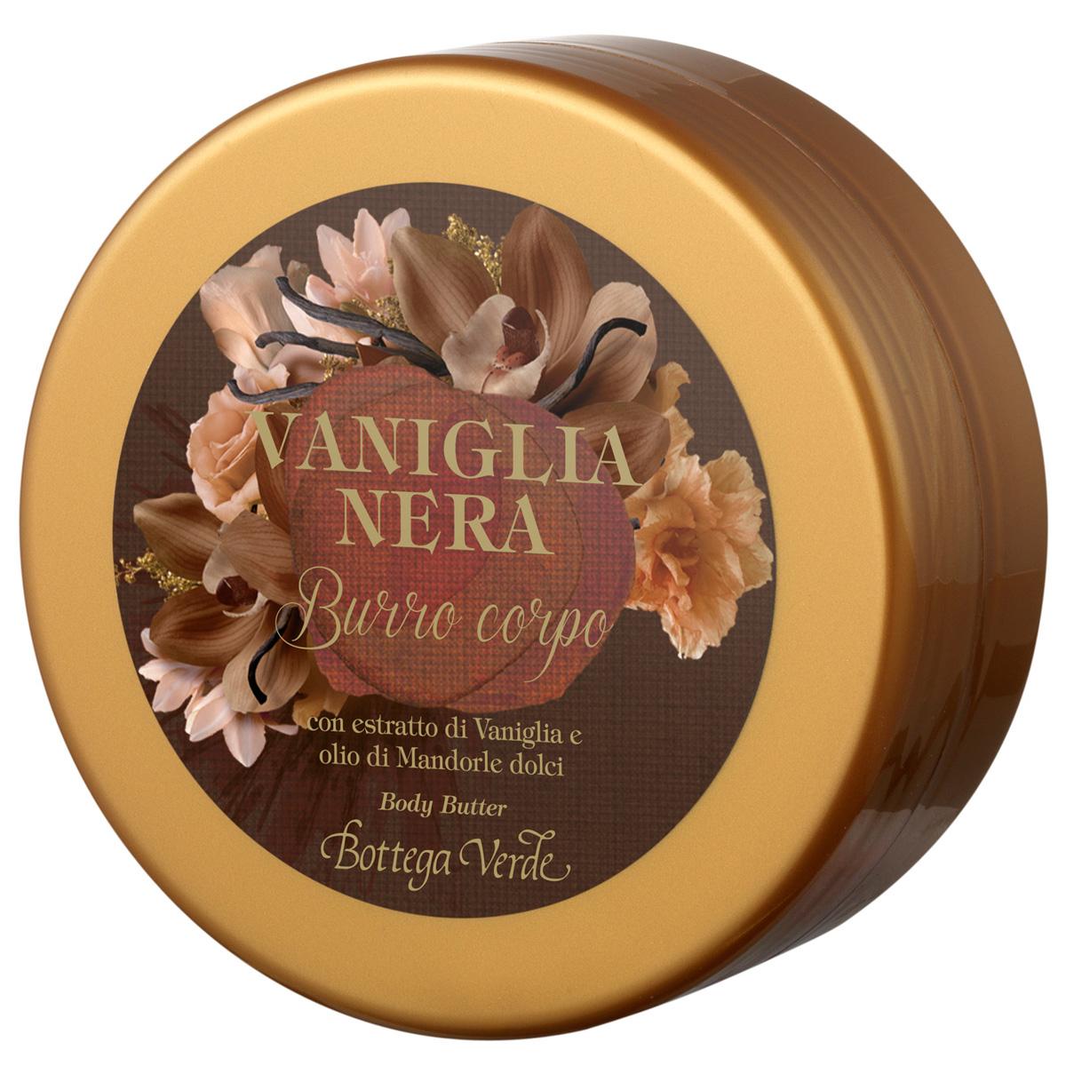 Vanilie neagra - Unt de corpt cu extract de vanilie si ulei de migdale dulci
