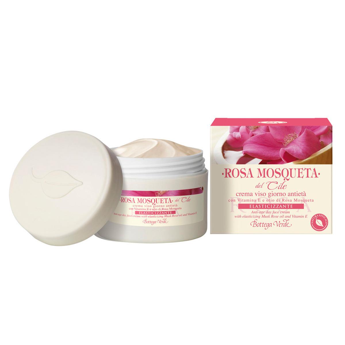 Crema de zi anti-imbatranire cu vitamina E si ulei de macese - Rosa Mosqueta, 50 ML