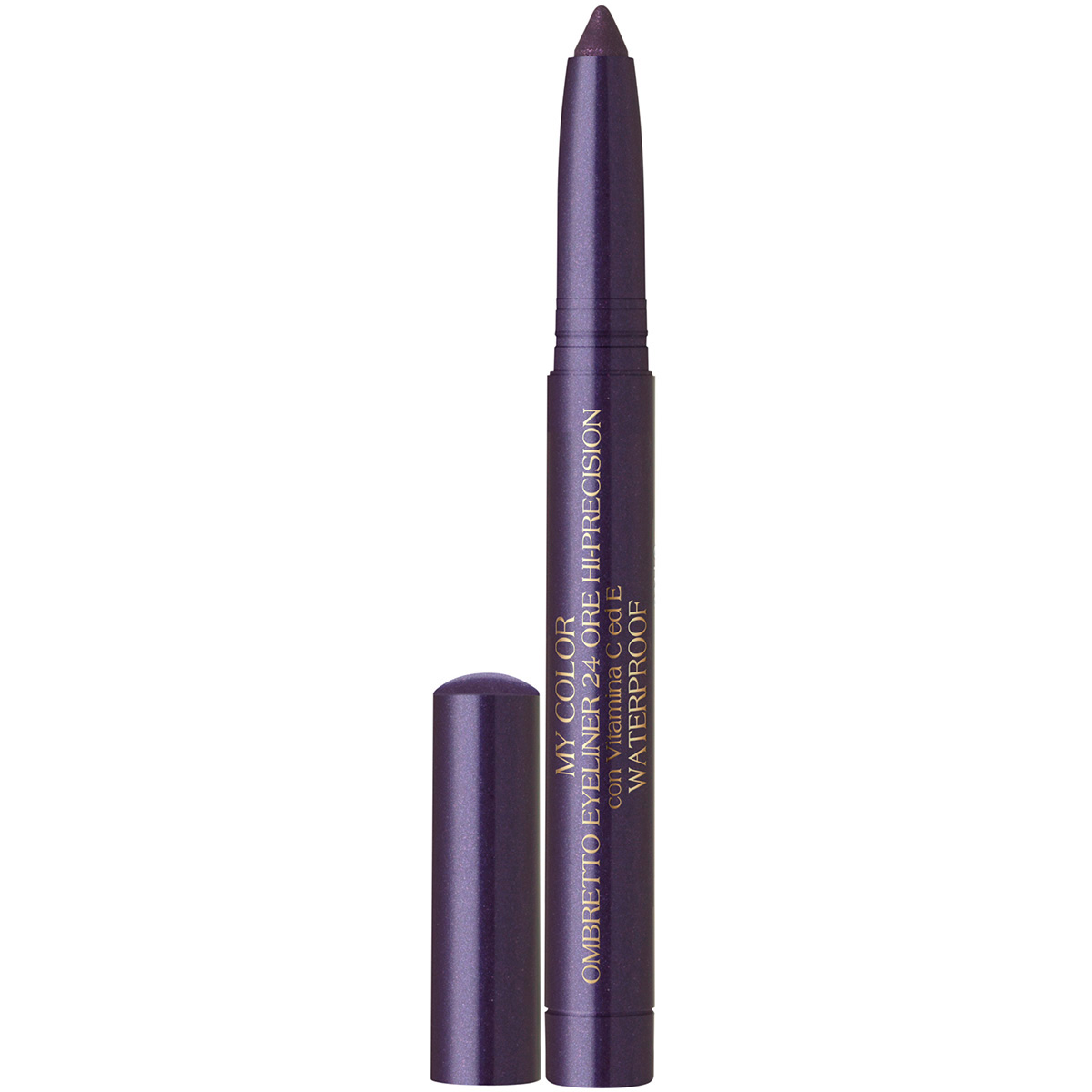Fard de pleoape stick cu vitaminele C si E - waterproof, violet - My color