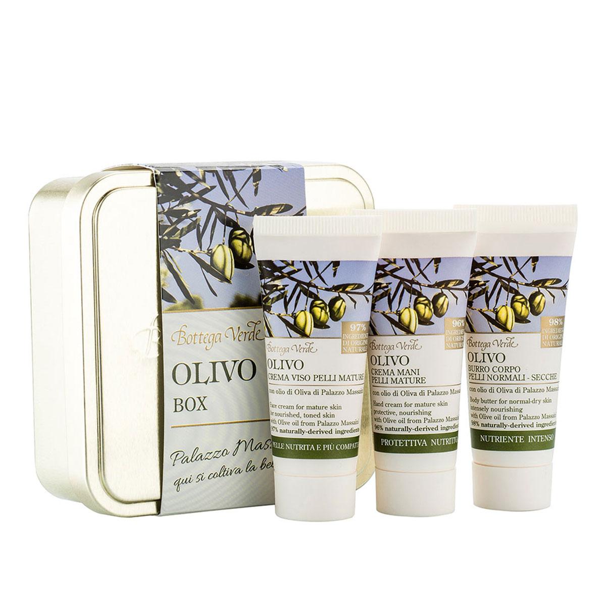 Set travel size cu extract de ulei de masline de la Palazzo Massaini - Olivo, 20 ML