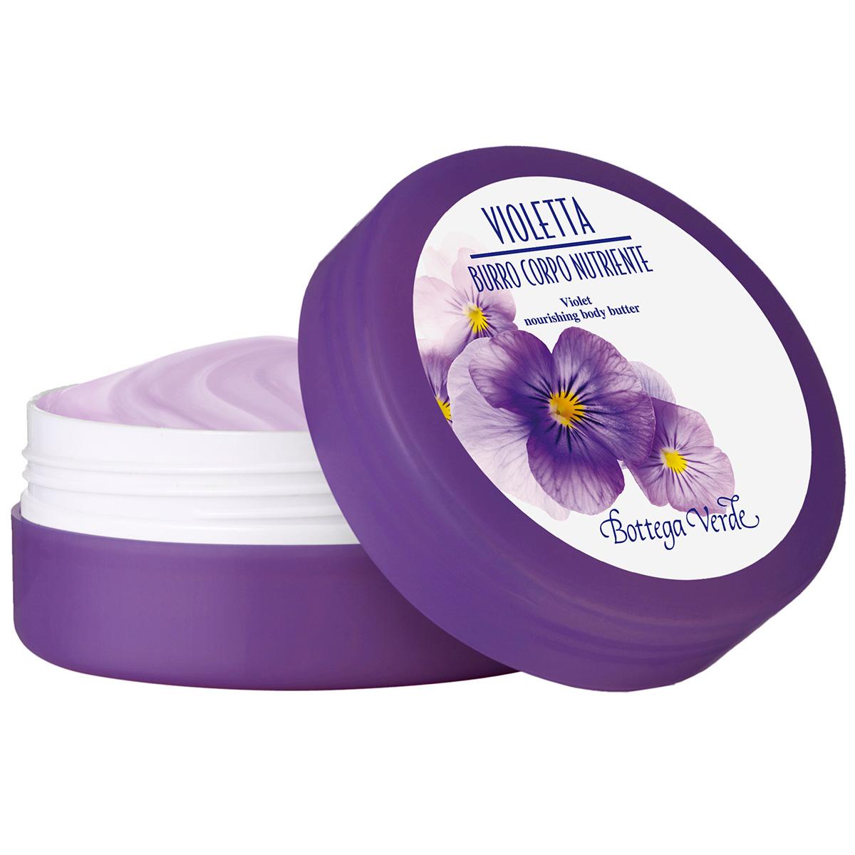 Unt de corp cu extract de violete - Violetta, 125 ML