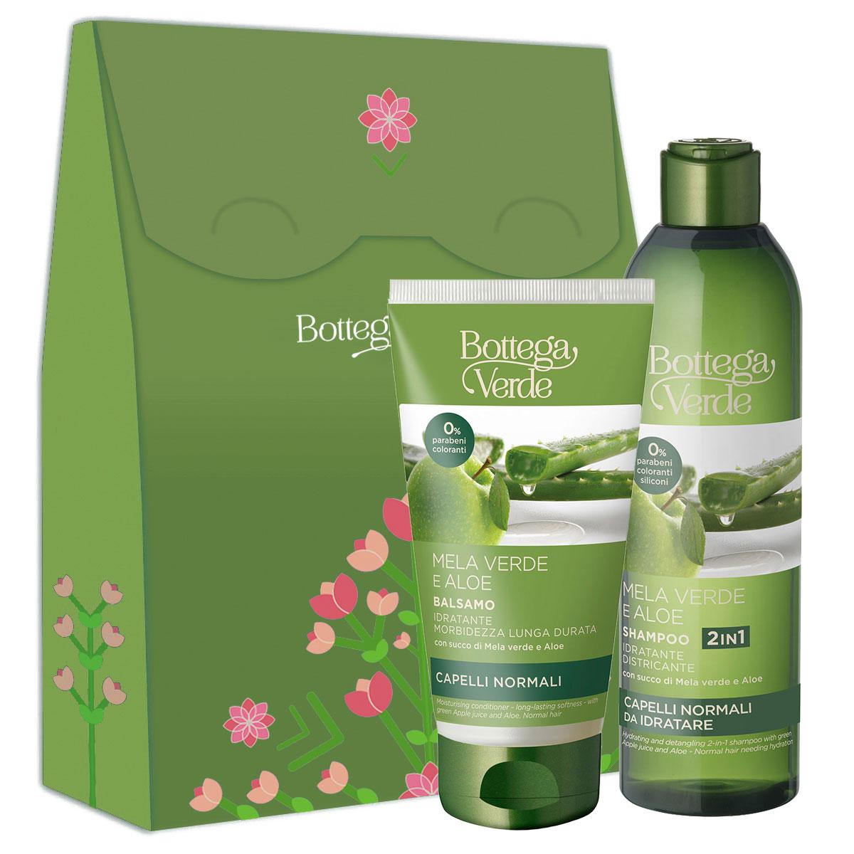 Set cadou femei hidratare par cu extract de aloe si mar verde imagine