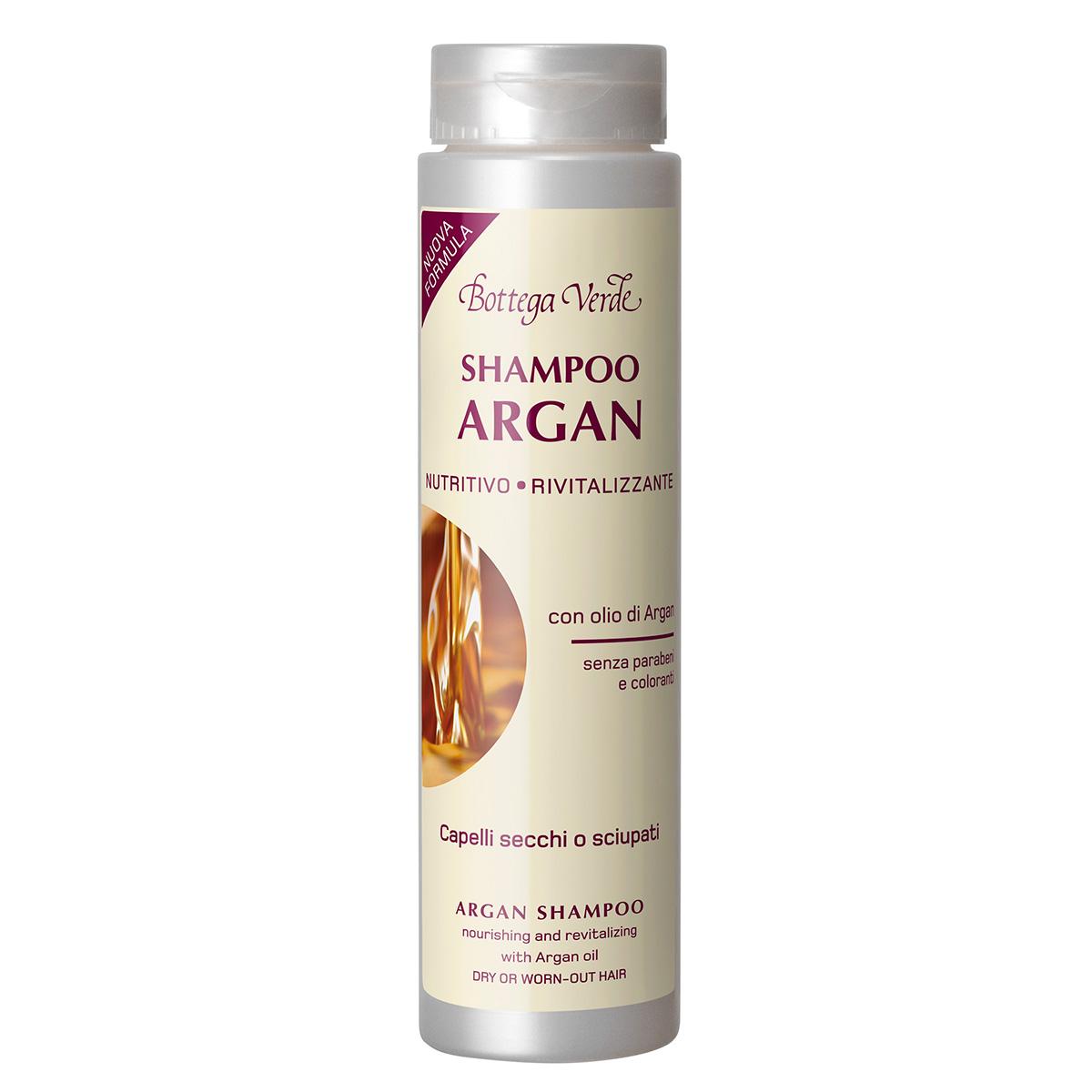 Sampon nutritiv cu ulei de argan, pentru parul uscat