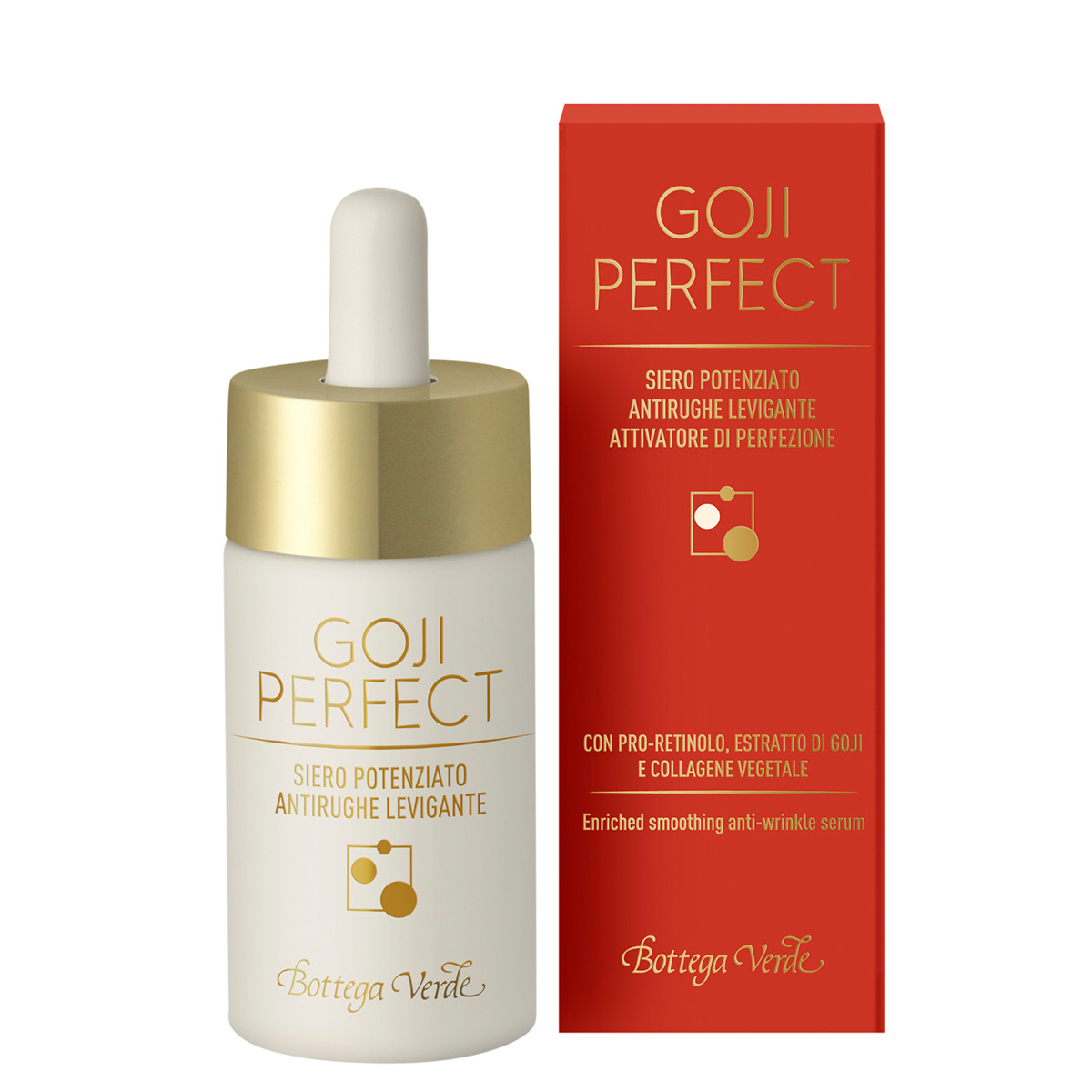 Goji Perfect - Ser antirid, cu PRO-Retinol, extract de plante goji si Colagen