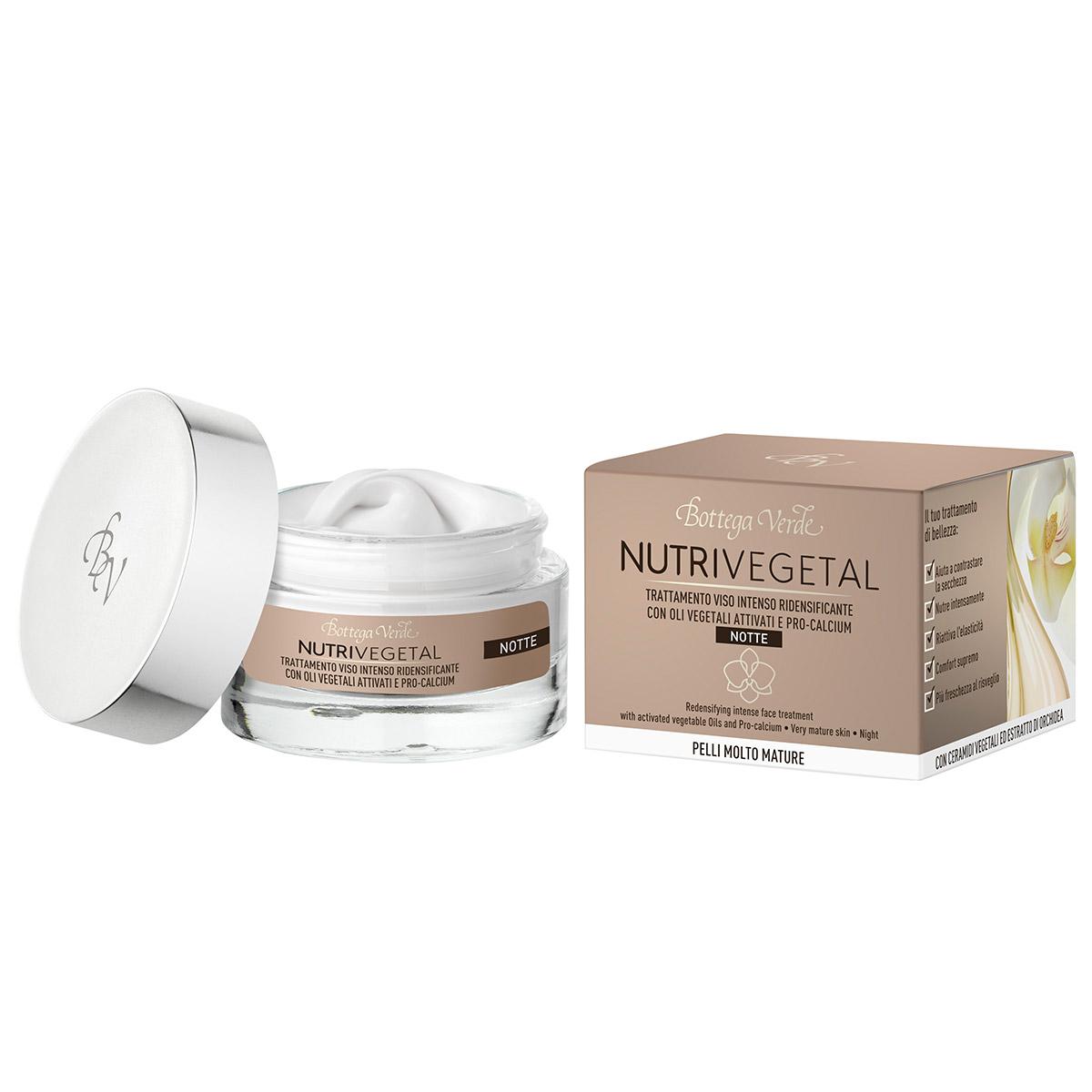Tratament facial de noapte cu uleiuri vegetale active, ceramide si extract de orhidee