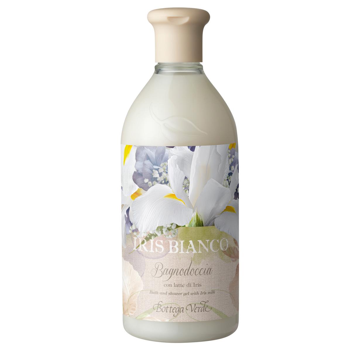 Iris bianco - Gel de dus cu lapte de iris