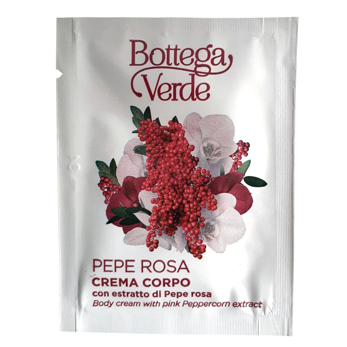Mostra crema de corp cu extract de piper roz - Pepe Rosa, 4 ML