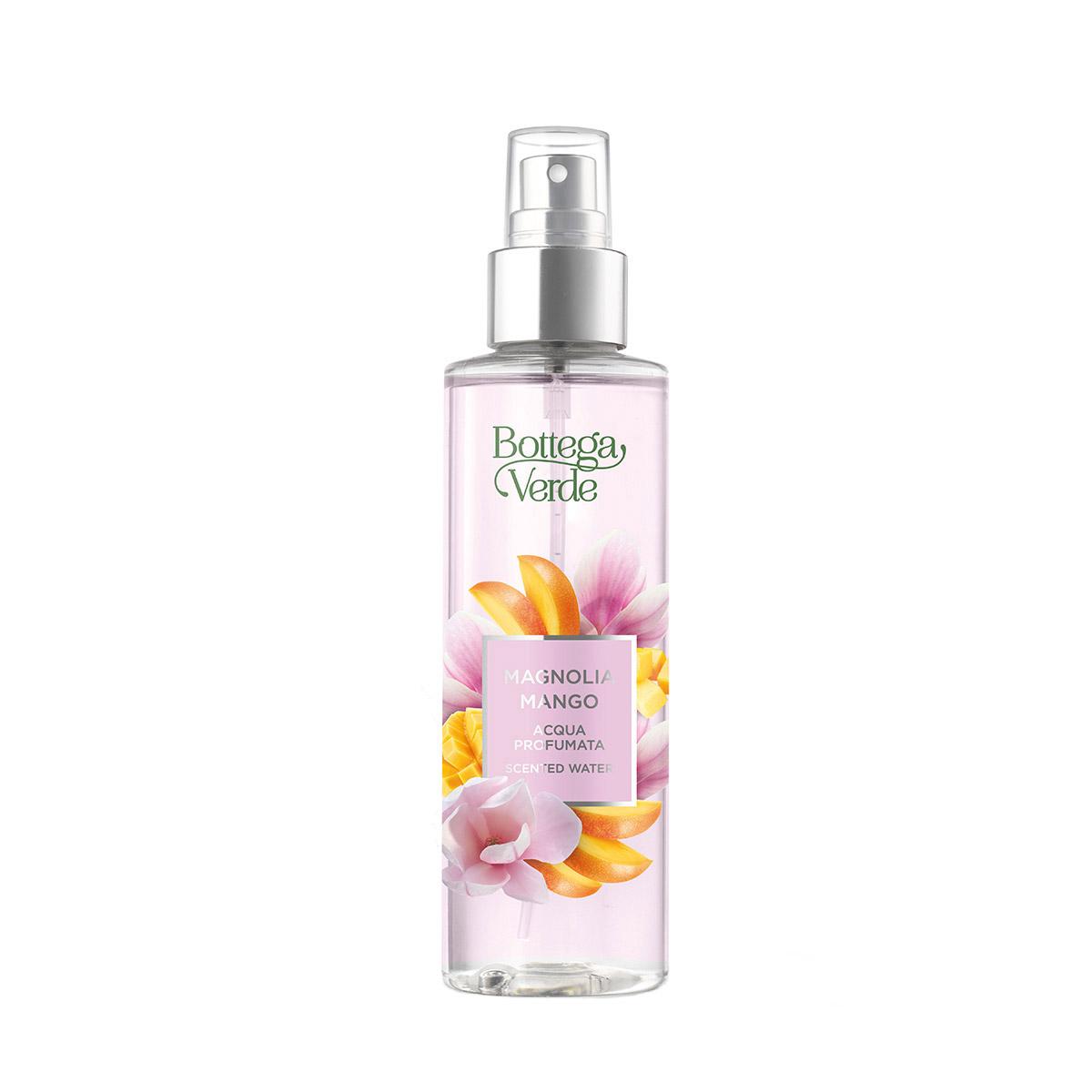Apa parfumata cu note de flori de magnolie si mango imagine