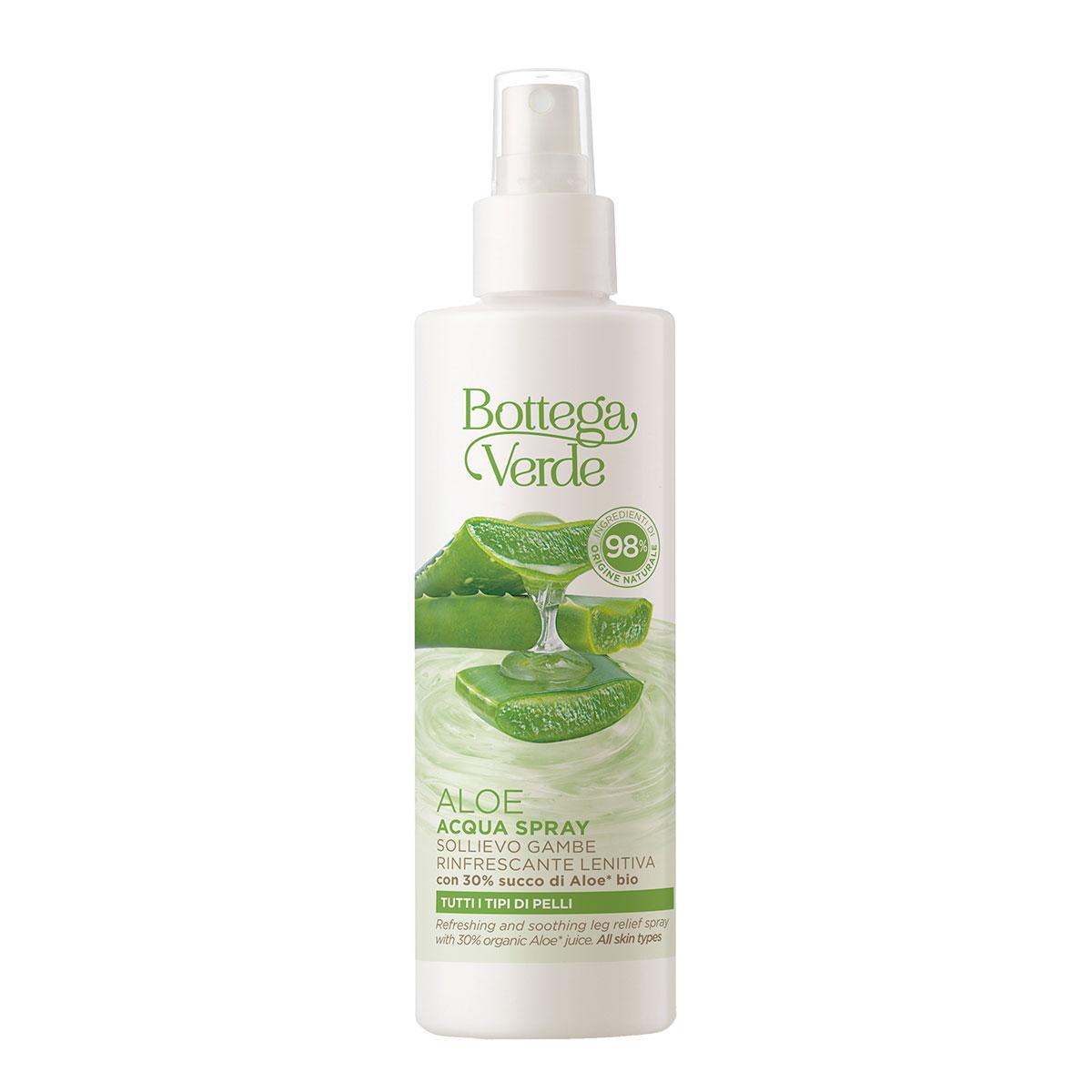 Spray revigorant pentru picioare cu 30% suc de aloe vera bio imagine