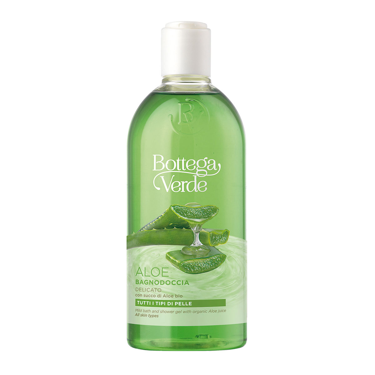 Gel de dus cu 90% extract de suc de aloe vera bio imagine