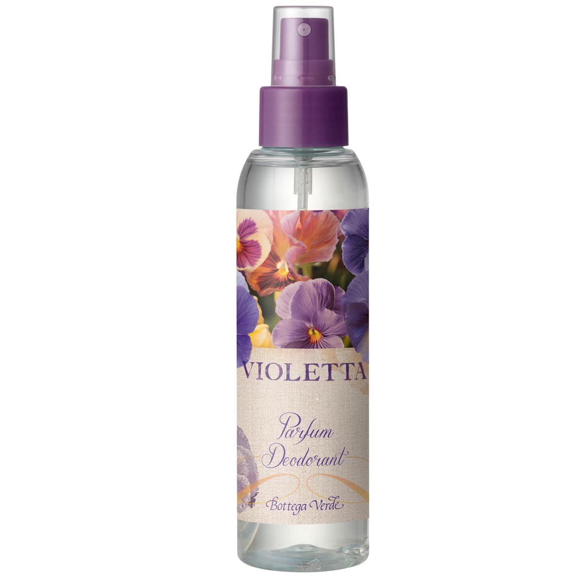 Parfum deodorant cu aroma de violete