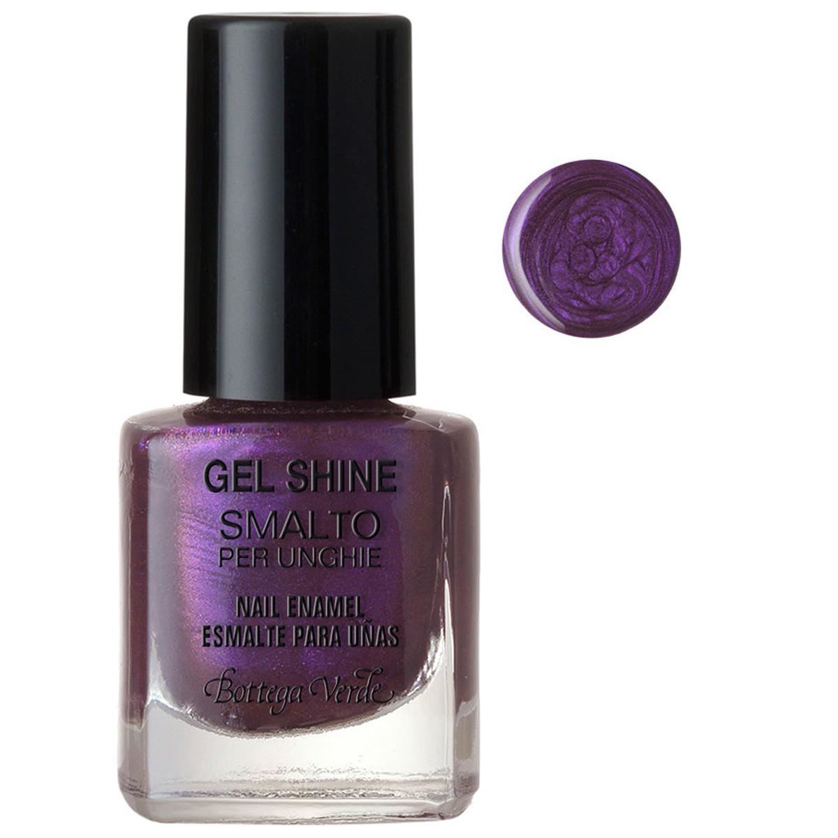 Lac de unghii, violet metalizat - Gel Shine, 5 ML