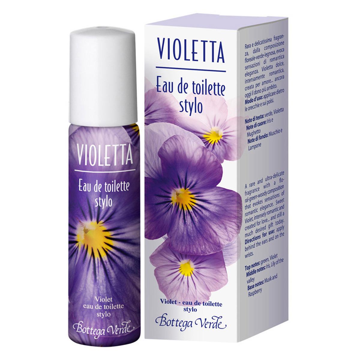 Apa de toaleta stick cu aroma de violete - Violetta, 15 ML