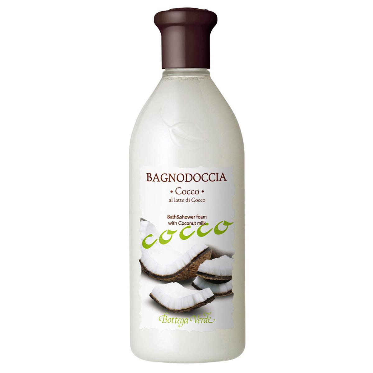 Gel de dus cu lapte de cocos - Cocco, 250 ML