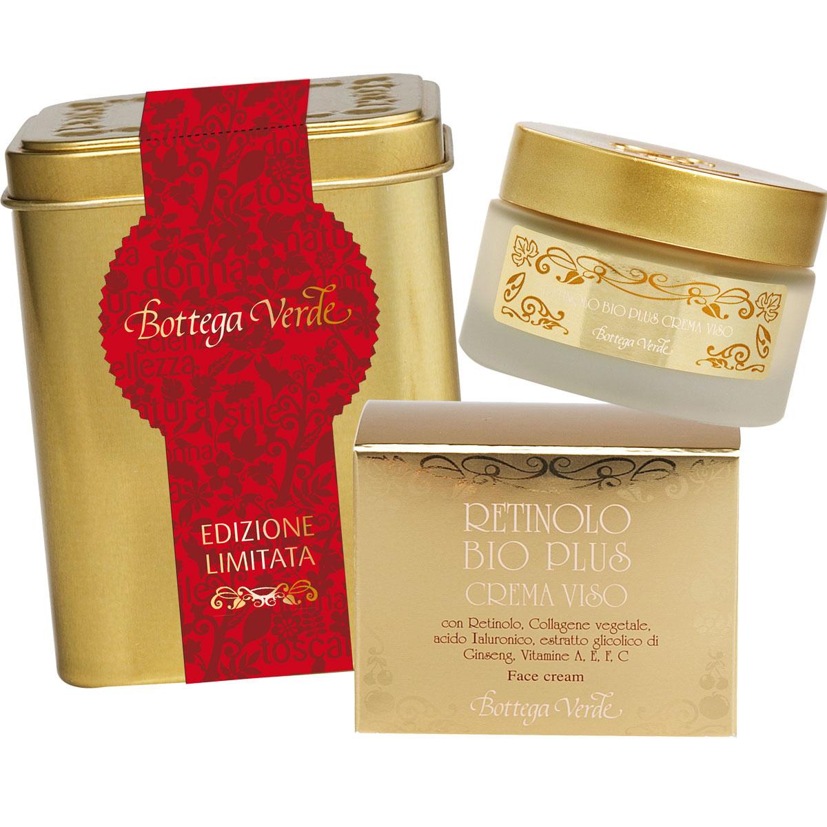 Set cadou - Retinolo - Crema Retinolo Bio Plus si cutie de metal - Retinolo Bv Plus