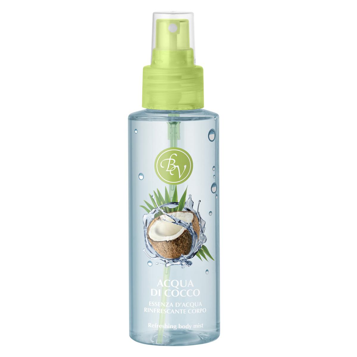 Spray racoritor pentru corp cu aroma de cocos
