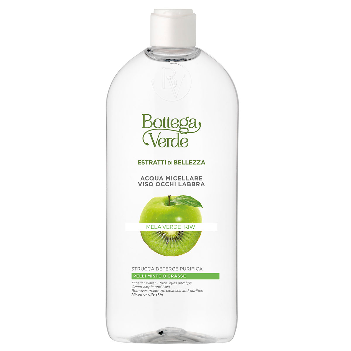 Apa micelara, pentru toate tipurile de ten, cu extract de mar verde si kiwi imagine produs