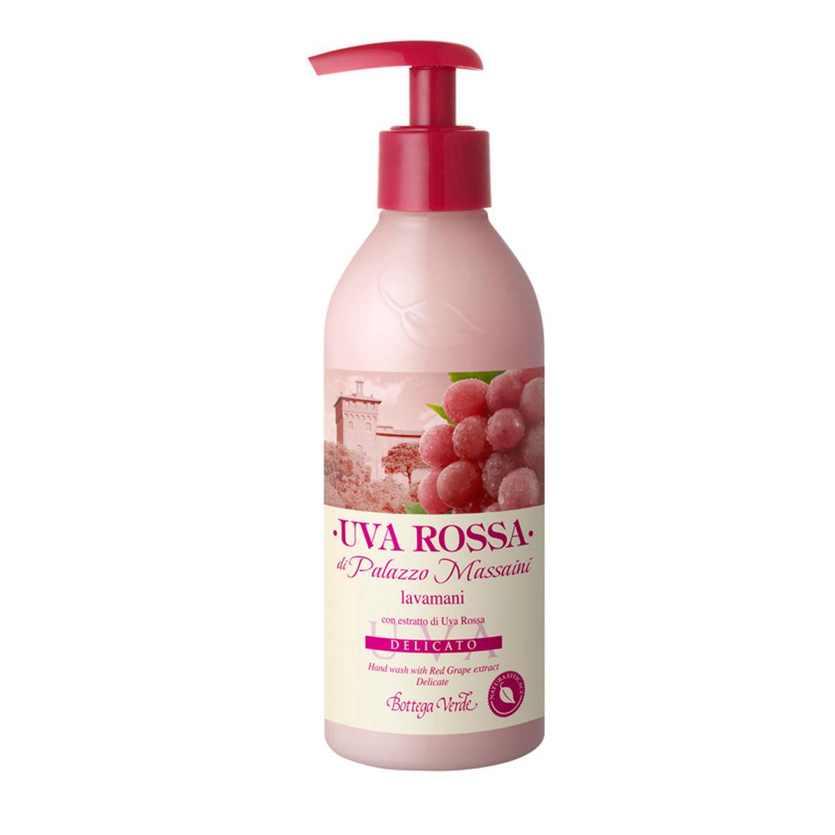 Struguri rosii - Sapun lichid cu extract de struguri rosii