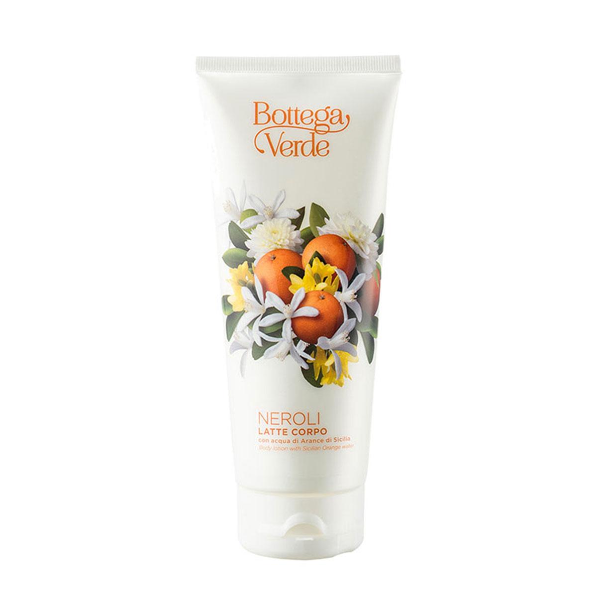 Lapte de corp cu aroma de flori de portocal imagine