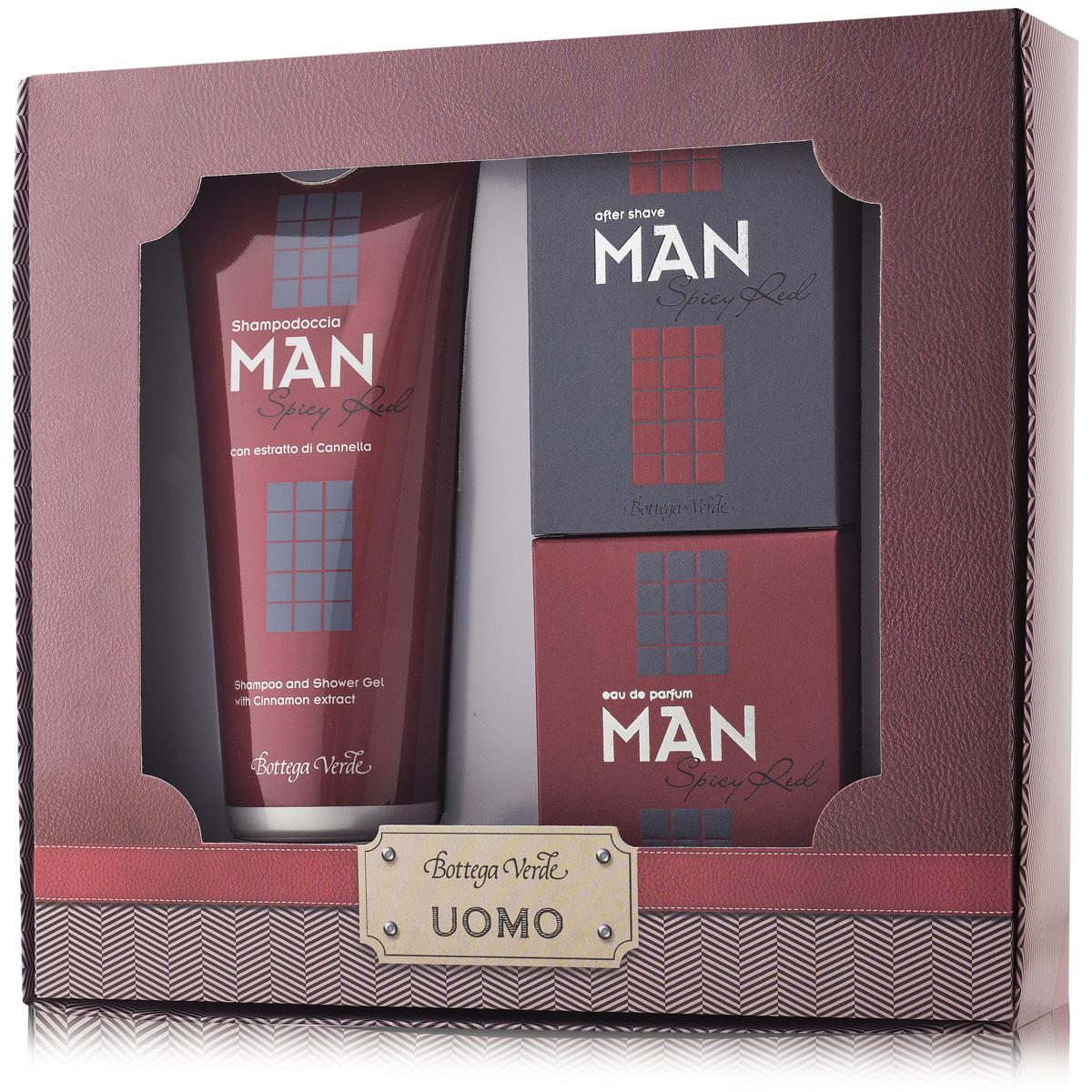 Set Cadou - Man - Gel De Dus  Apa De Parfum Si After Shave Spicy Red