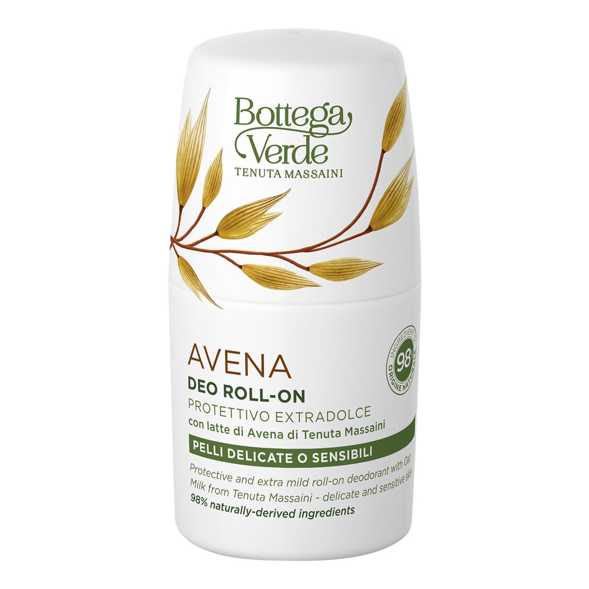 Deodorant Roll-on Pentru Piele Delicata Si Sensibila Cu Lapte De Ovaz