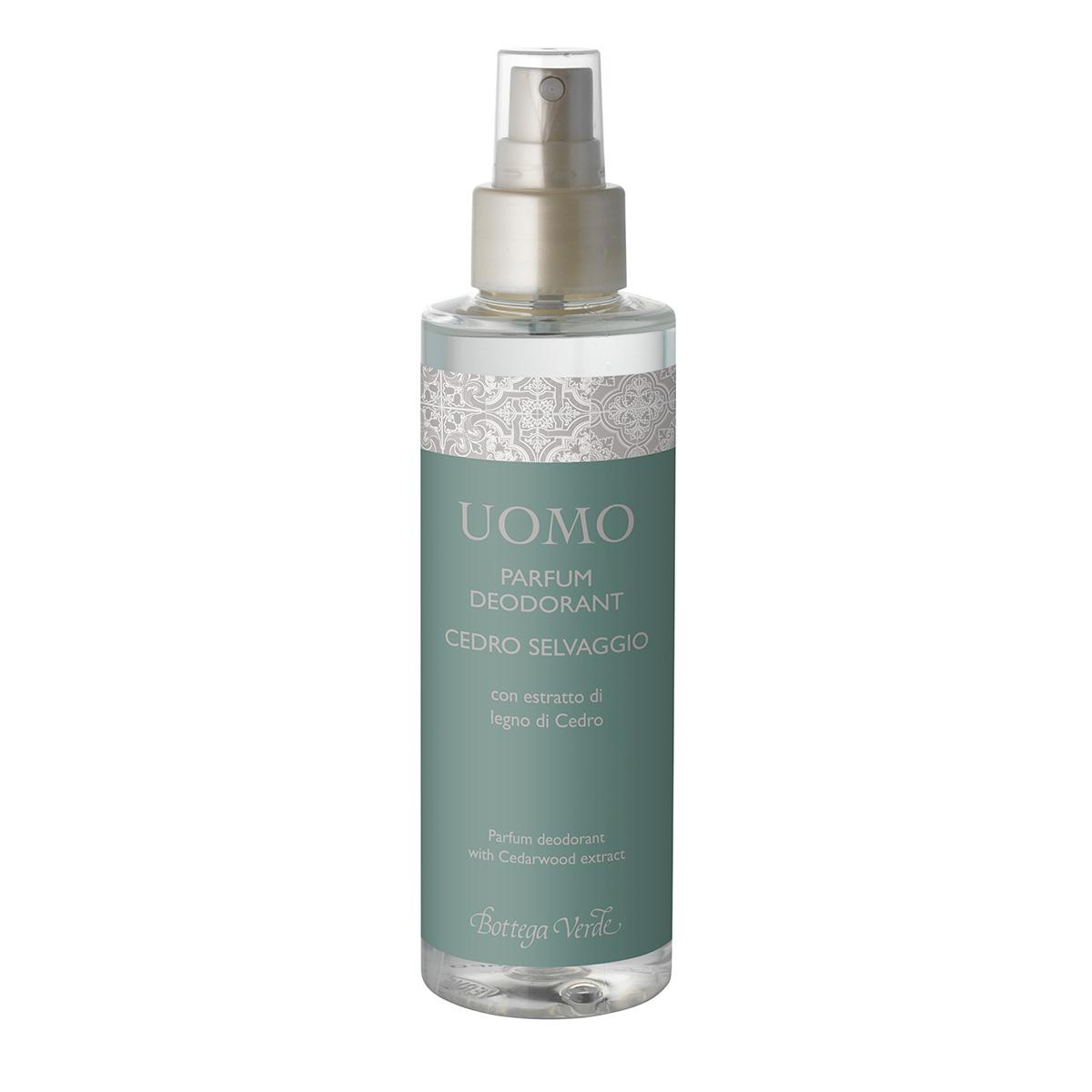 Parfum Deodorant Cu Extract De Lemn De Cedru