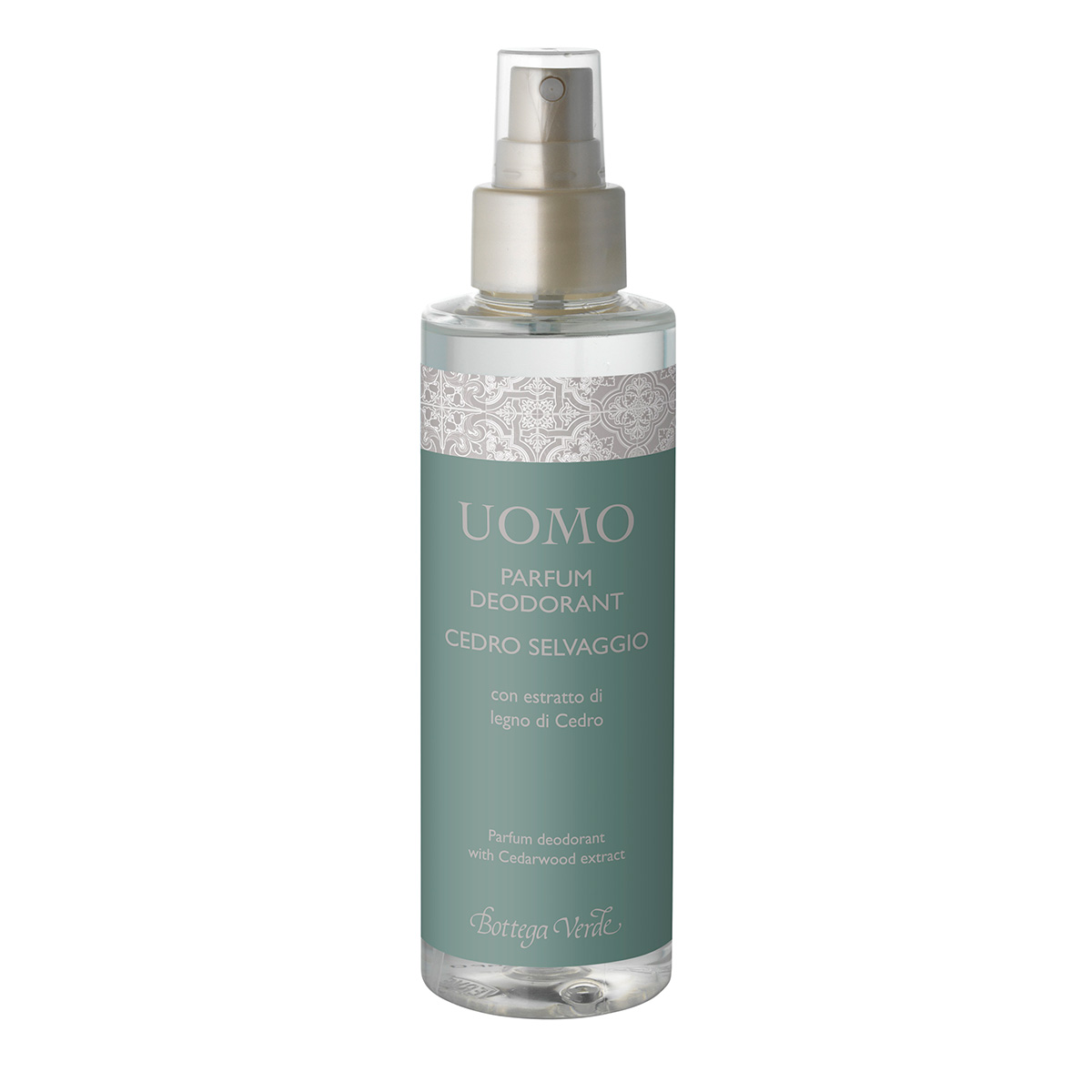 Parfum deodorant cu extract de cedru salbatic