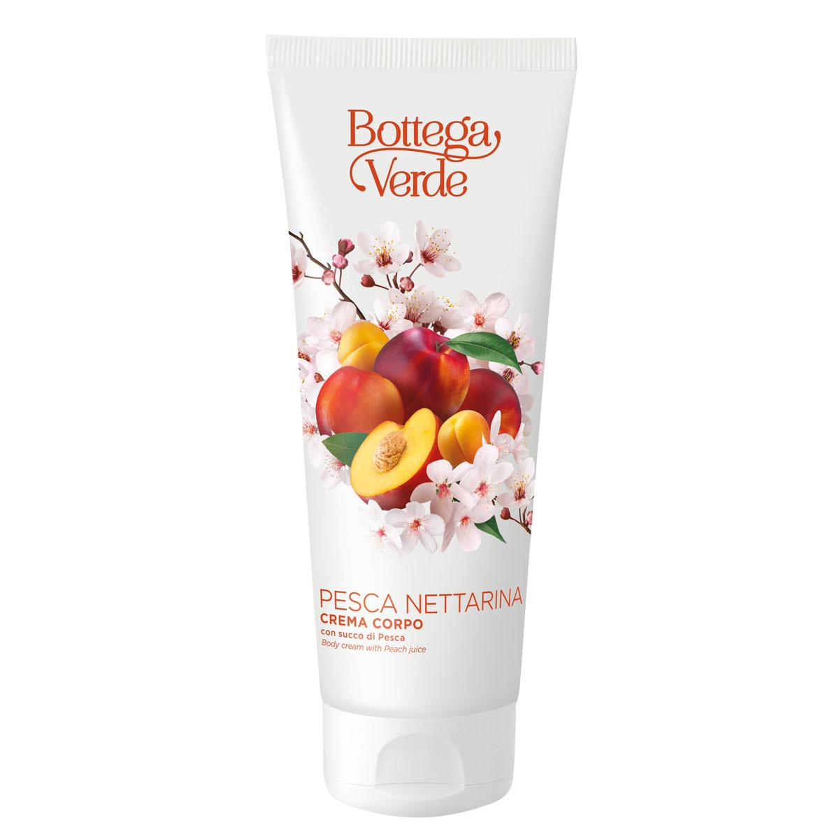 Crema de corp, hidratanta, cu aroma de nectarine imagine