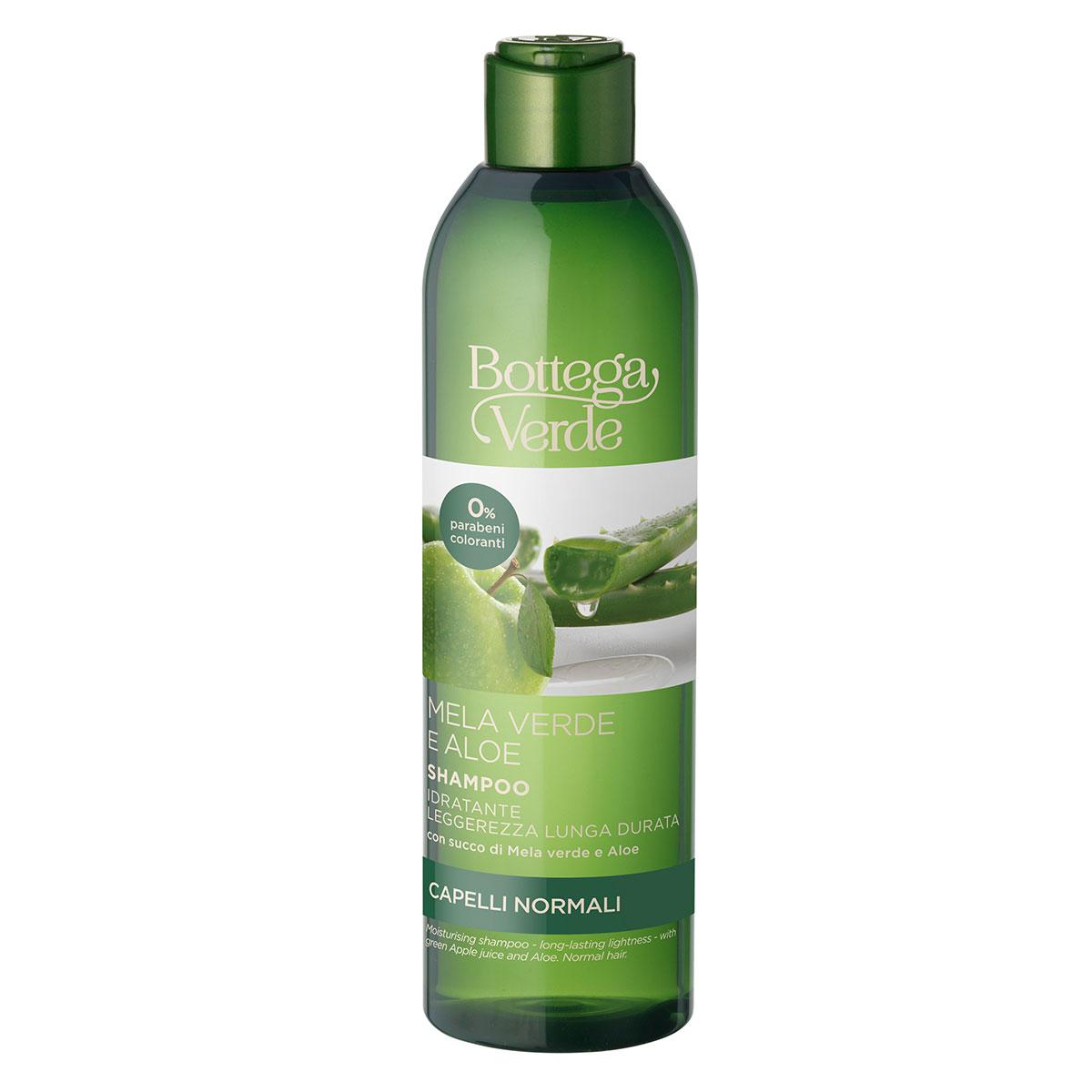 Sampon hidratant, cu extract de aloe si mar verde imagine