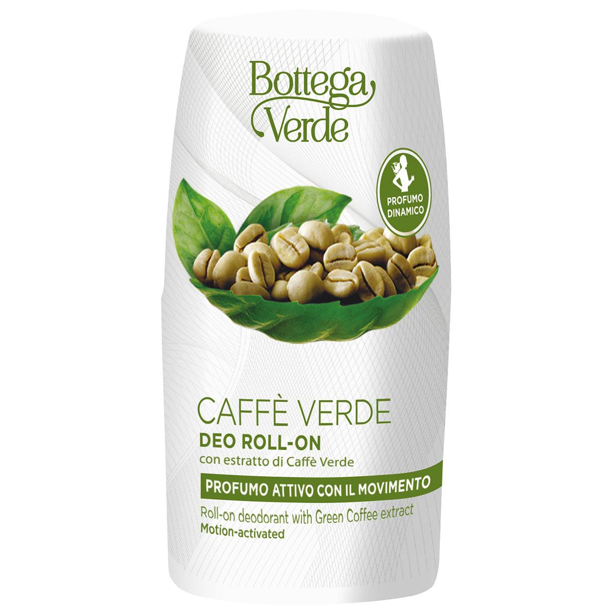 Deodorant roll-on cu extract de cafea verde - Caffè Verde, 50 ML