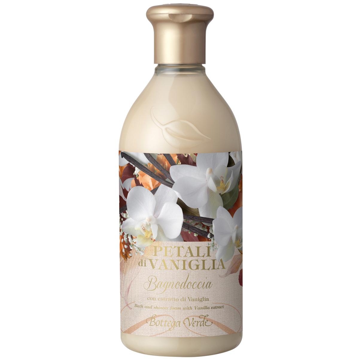 Petale de vanilie - Gel de dus cu extract de vanilie