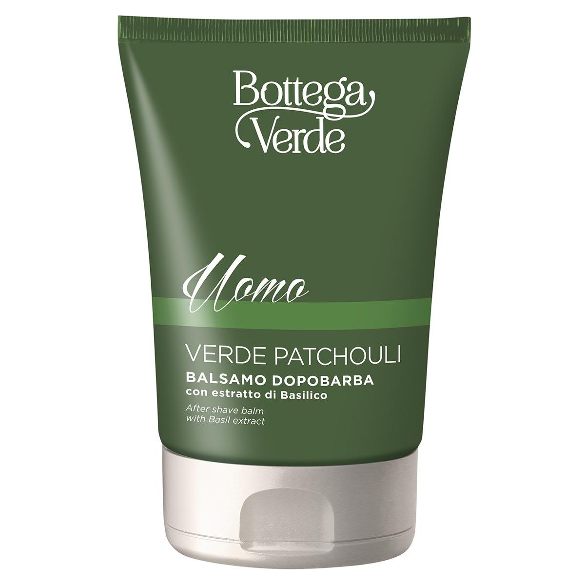 Balsam dupa barbierit cu extract de Patchouli verde - Verde Patchouli, 75 ML