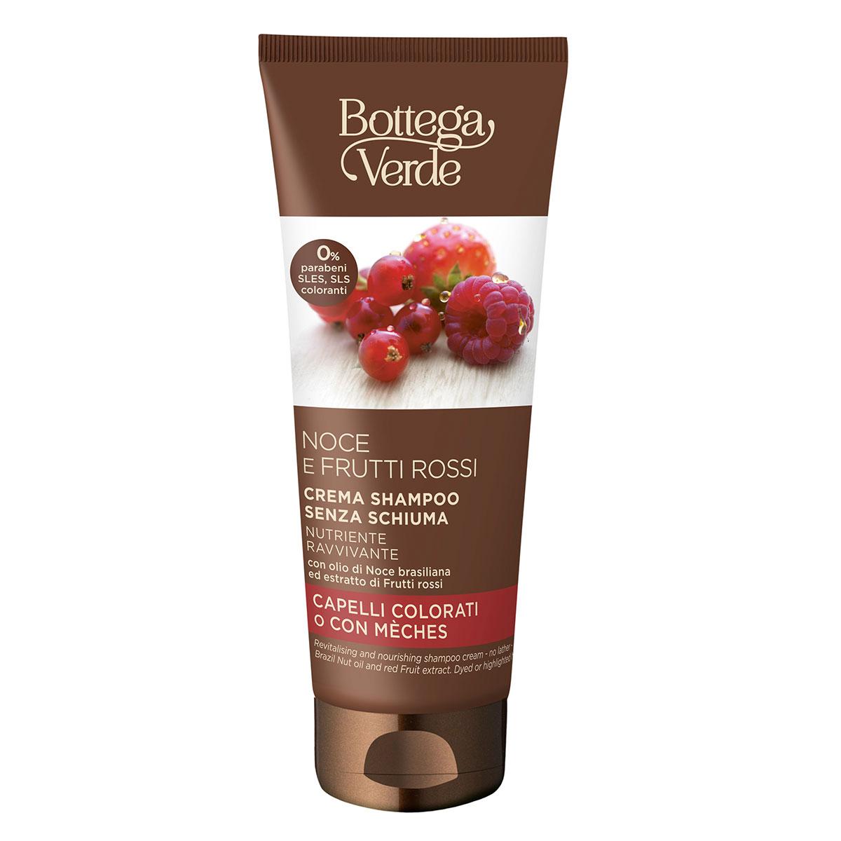 Sampon-crema, fara spuma, cu ulei de nuci braziliene si extract de fructe rosii imagine