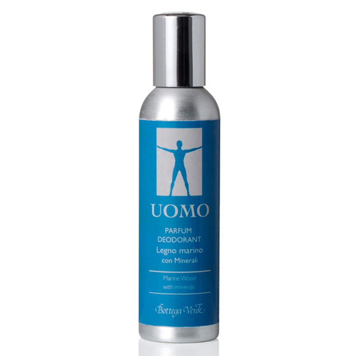 UOMO - Lemn marin - Parfum deodorant cu Minerale