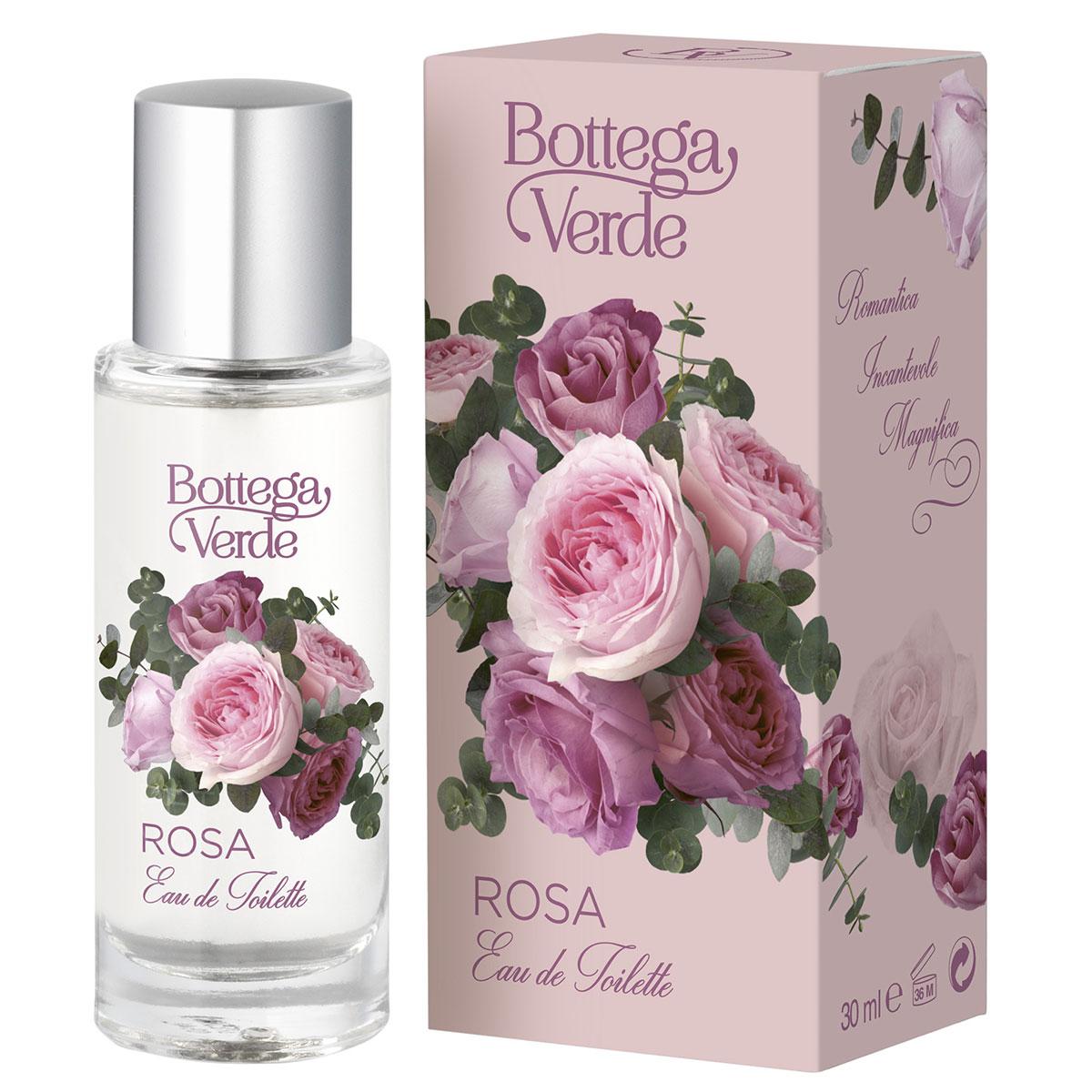 Apa De Toaleta Cu Aroma De Trandafiri