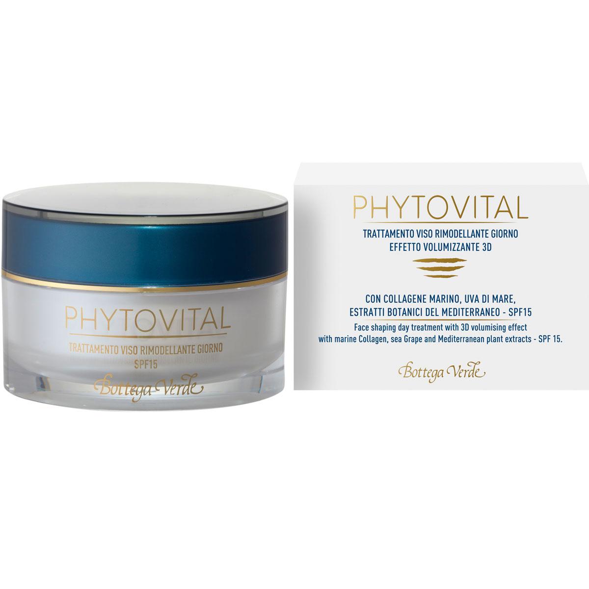Phytovital - Tratament de zi pentru fata cu colagen marin si extracte botanice