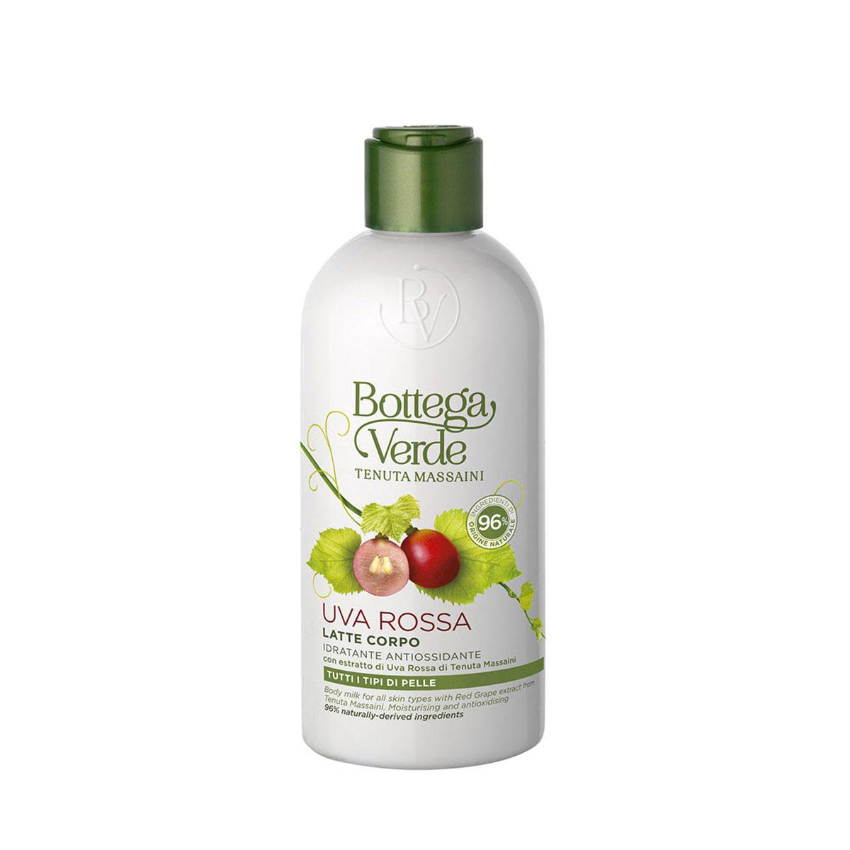 Lapte De Corp Hidratant Si Antioxidant Cu Extract De Struguri Rosii