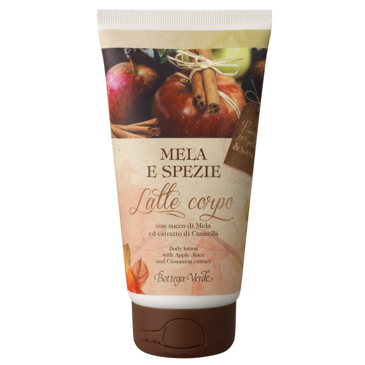 Lapte de corp cu extract de mere si scortisoara - Mela e Spezie, 150 ML