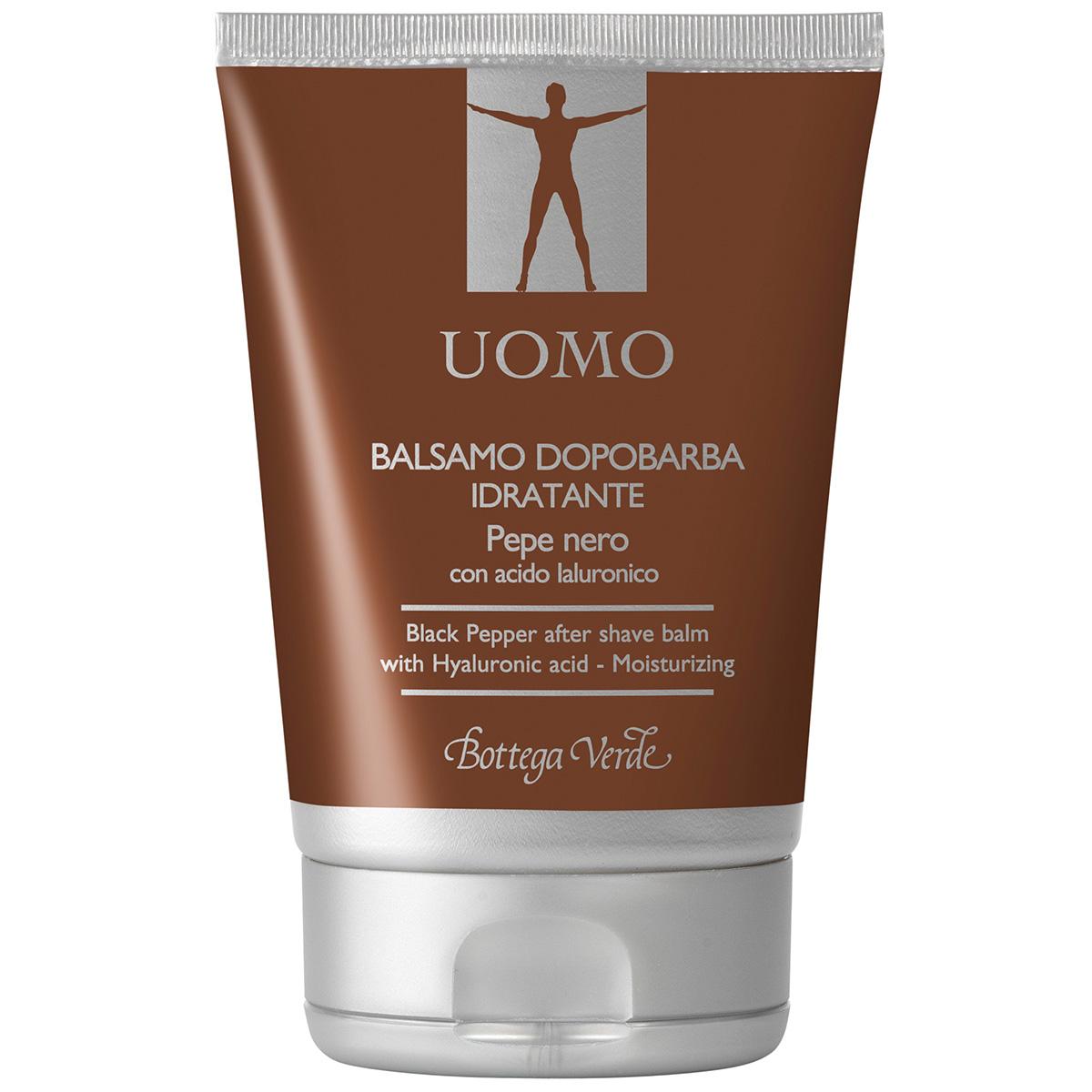 UOMO - Piper Negru balsam dupa barbierit cu acid hialuronic - hidratant