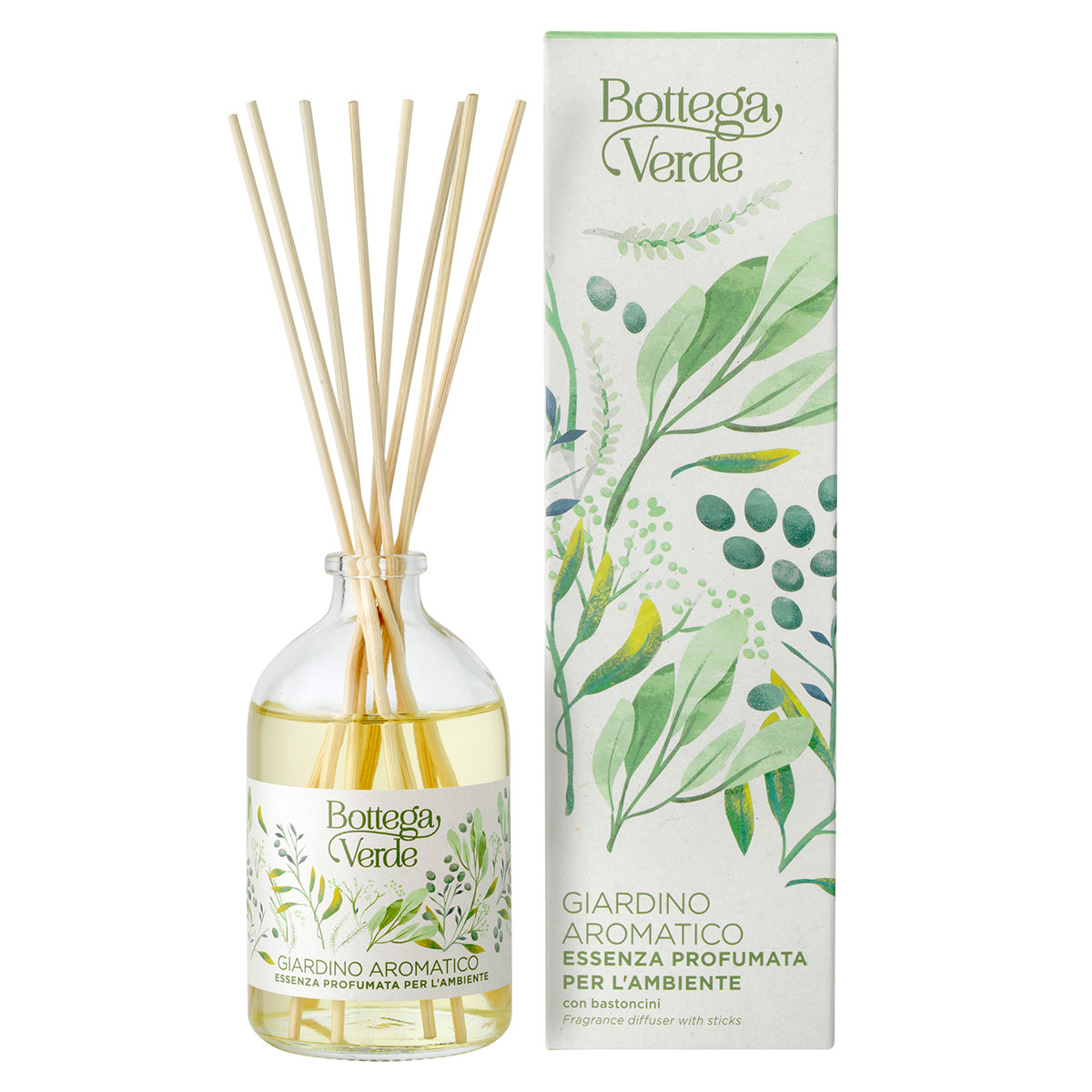 Difuzor de parfum cu aroma de flori exotice - Giardino Aromatico, 100 ML