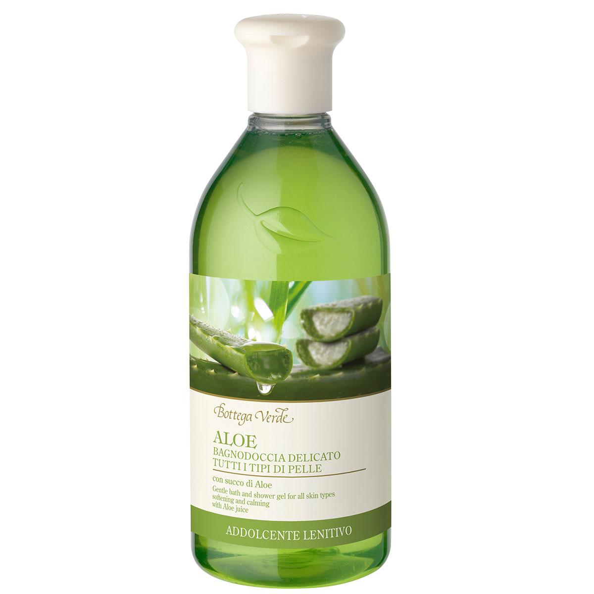 Gel De Dus Hidratant Si Calmant, Cu Extract De Aloe Vera