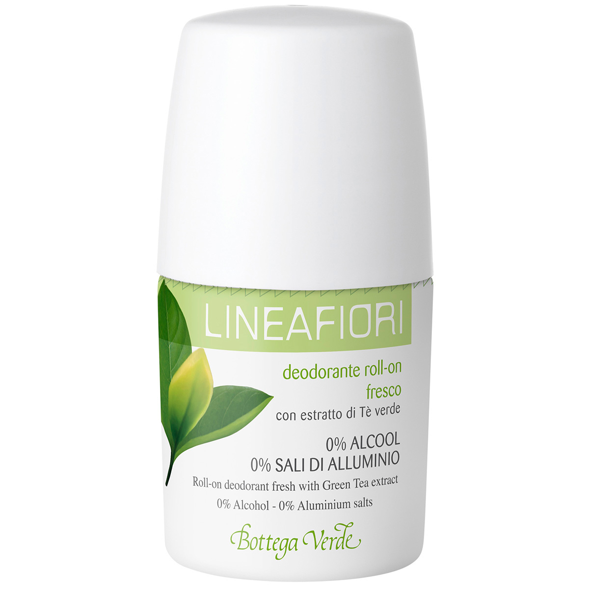 Linea Fiori - Deodorant roll-on cu extract de ceai verde - fresh