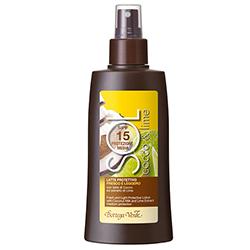 Cocos si lime - Lapte de protectie, racoritor, cu lapte de cocos si extract de lime - protectie medie SPF15  (150 ML)