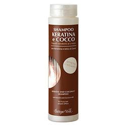 Sampon cu keratina si lapte de cocos pentru par predispus la incretire - Keratina e Cocco  (200 ML)