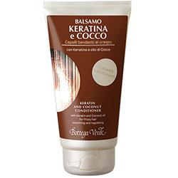 Cocos si Keratina - Balsam cu keratina si ulei de cocos - pentru par rebel