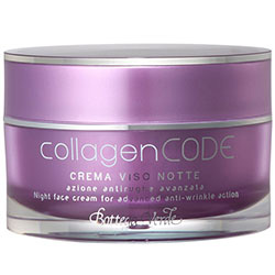 Crema de noapte antirid cu colagen vegetal si Elastindefence™  - CollagenCODE  (50 ML)